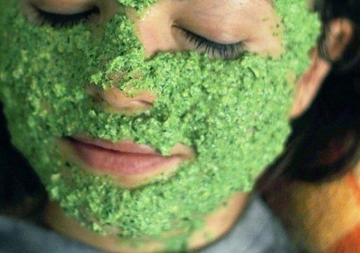 крапива поможет оздоровить кожу лица