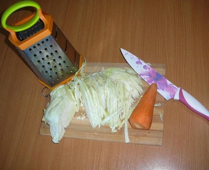 квасим капусту без соли