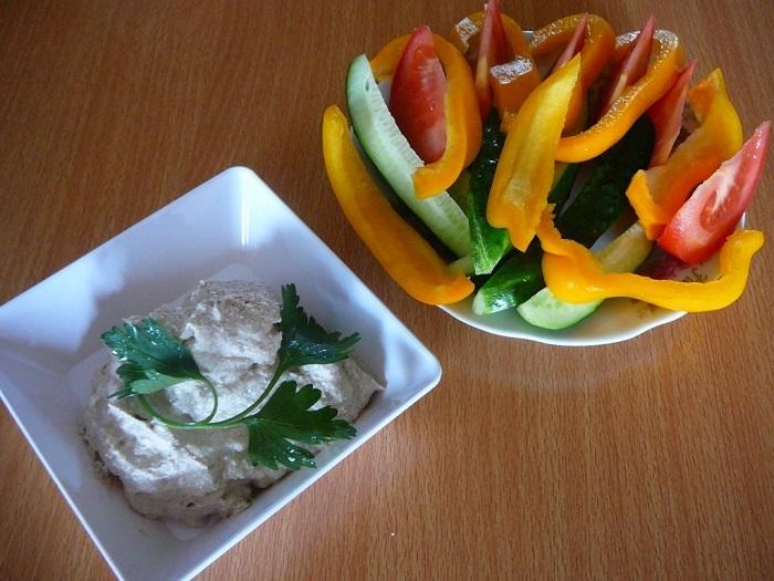 сациви с овощами