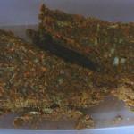 Сыроедческие хлебцы из льна и семечек, они же «сухарики»